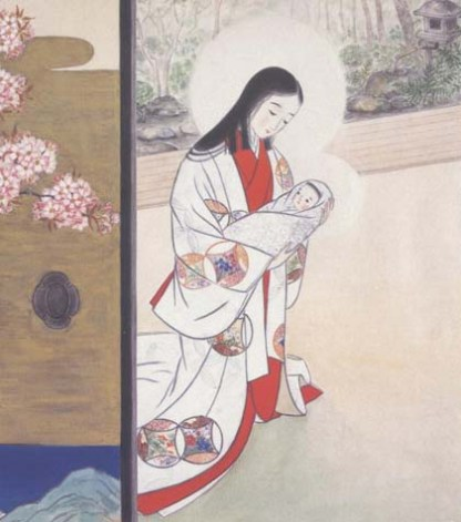 Madonna of the Cherry Blossoms