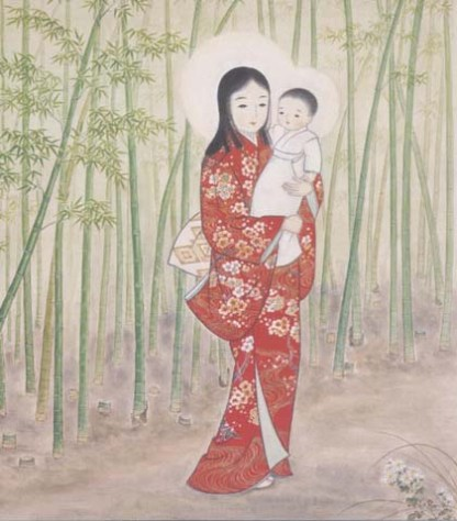 Madonna of the Bamboo Grove