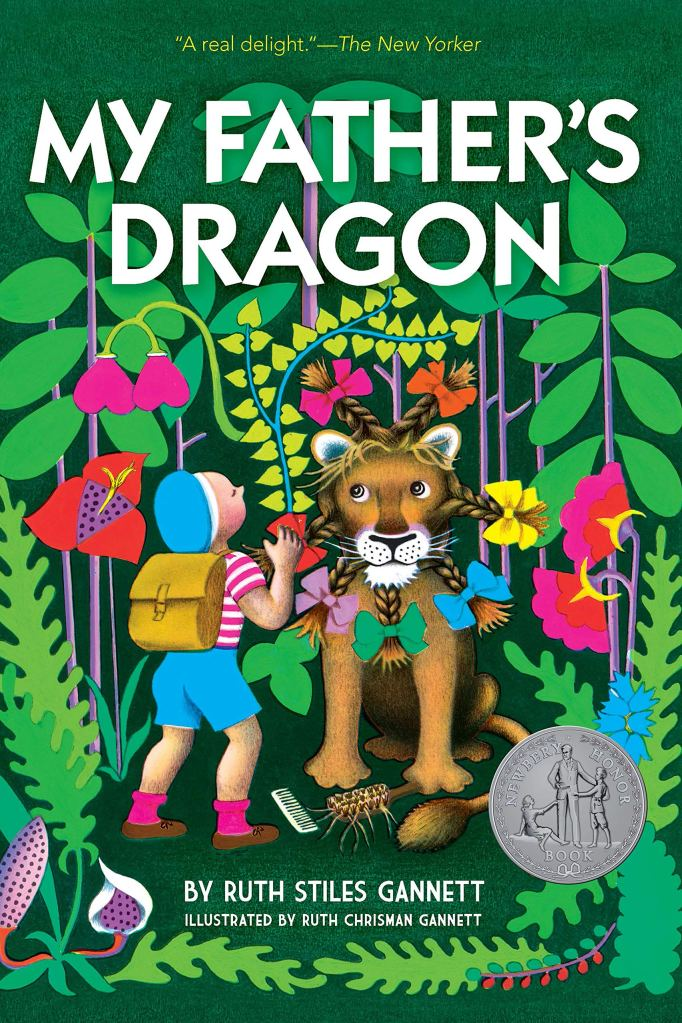 cover art for My Father's Dragon by Ruth Stiles Gannett